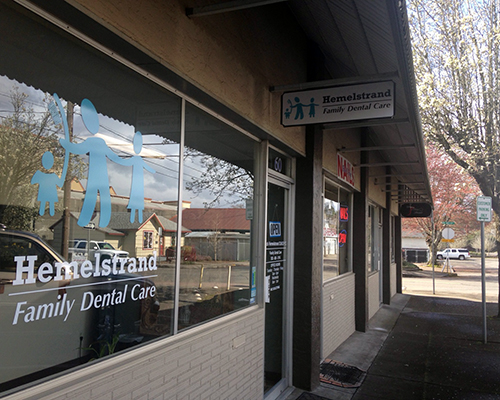 hemelstrand dental office tour outside